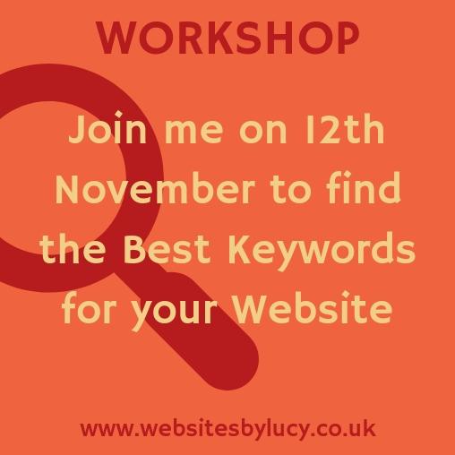 Workshop: How to Find the Best Keywords for your Website